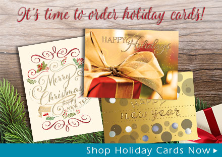 It's time to order holiday cards!