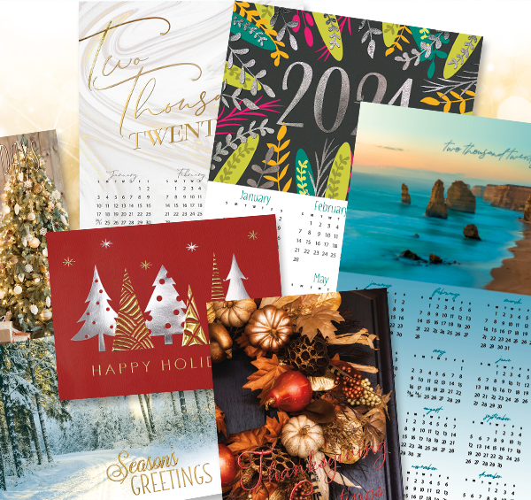 New Holiday Cards & 2021 Calendars