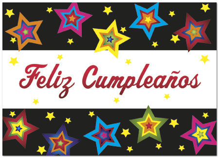 Spanish Birthday Cards Feliz Cumplea os – Birthday Greeting in Spanish