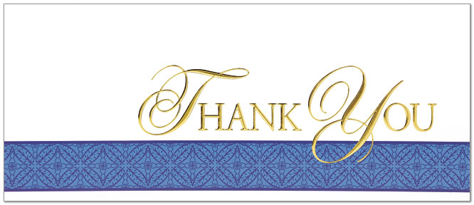 Executive thank you card business thank you cards from posty cards zoom reheart Choice Image