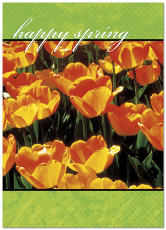 Business greeting cards happy spring 964d y happy spring greeting card 964d y zoom m4hsunfo