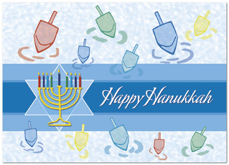 Hanukkah greetings card jewish holiday cards posty cards inc zoom m4hsunfo Image collections