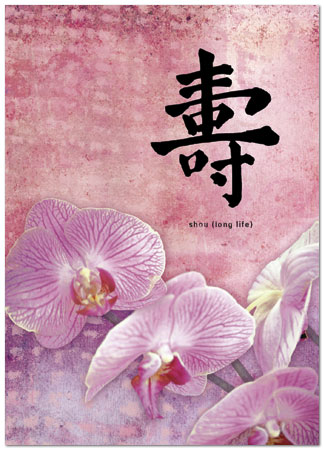 Chinese orchids birthday card chinese birthday cards posty cards chinese orchids birthday card 147r y zoom m4hsunfo