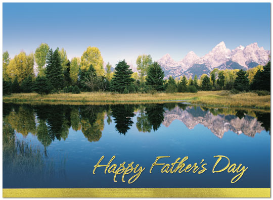 Scenic father 39 s day card business father 39 s day cards for Exterior beauty quotes