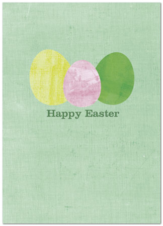 Easter eggs greeting card business easter cards posty cards inc zoom m4hsunfo