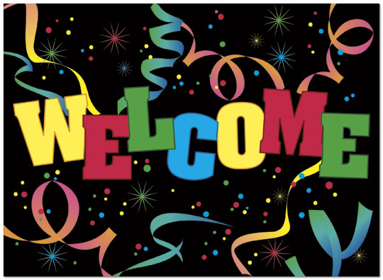 welcome party greeting card employee welcome cards Christian Christmas Clip Art New Member Sunday Clip Art