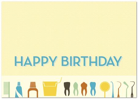 Dental Birthday Card Business Birthday Cards Posty Cards Inc