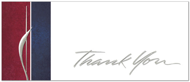 Executive thank you card business thank you cards executive thank you card a2083l x zoom reheart Choice Image