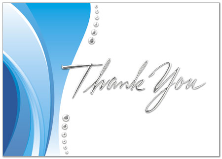 Thank you wave card business thank you cards posty cards inc thank you wave card a2084d x zoom reheart Choice Image