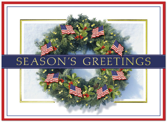 zoom - Patriotic Christmas Cards