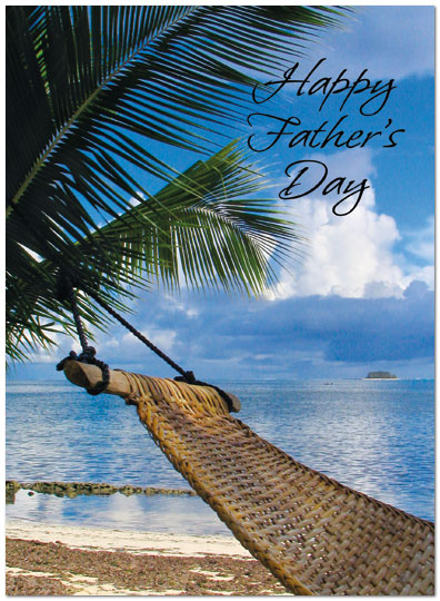 Father's Day Beach Card A3060U-Y