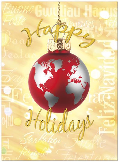 World Holidays Card H3172U-AA