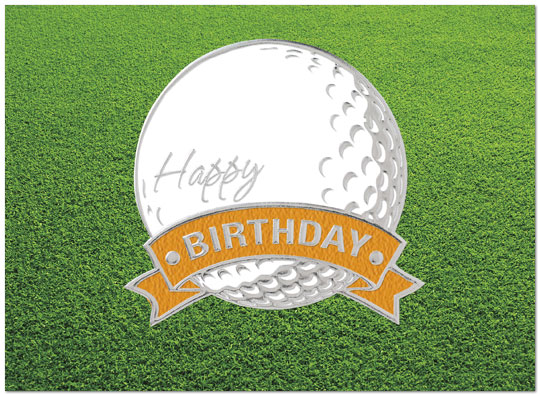 Golf Ball Birthday Card Golf Birthday Cards – Birthday Cards Golf