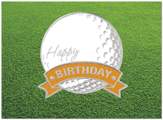 golf ball birthday card  golf birthday cards  posty cards, Greeting card