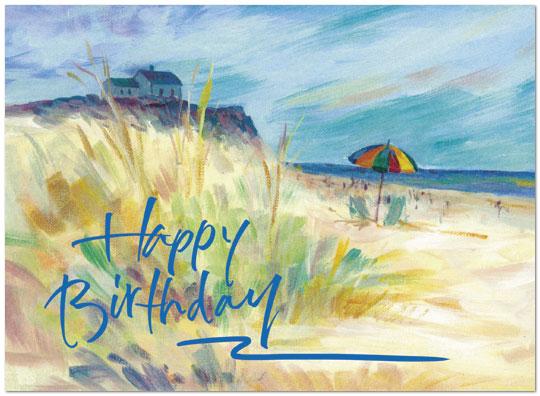 Birthday Card Sayings Beach : Beach picnic birthday card business cards