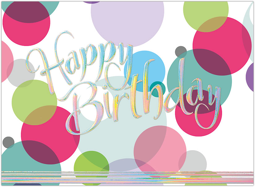 Birthday Bubbles Card