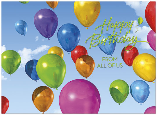 From All of Us Birthday Card A5011U-X