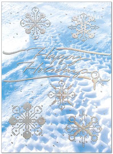 Snow Tracks Holiday Card H5182S-AAA