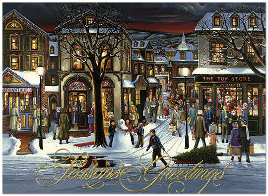 'Tis the Season Holiday Card H6128G-AAA