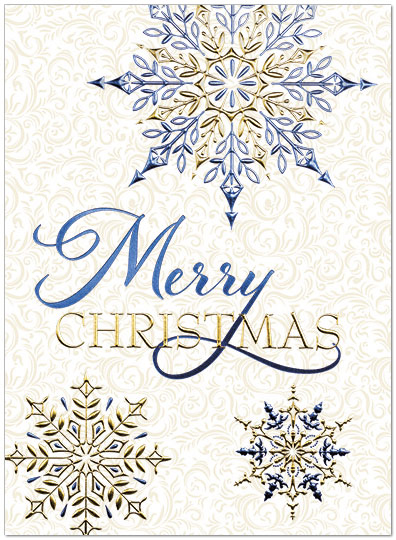elegant christmas card h6132g aaa zoom - Elegant Christmas Cards