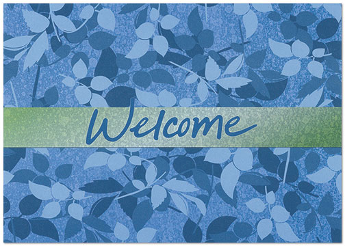 Welcome Branches Card A7048KW-X