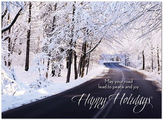 Winter Travels Holiday Card H7174U-AA