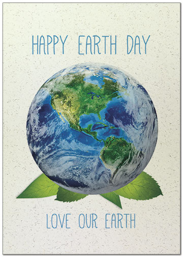 Love Our Earth Card A8065KW-X