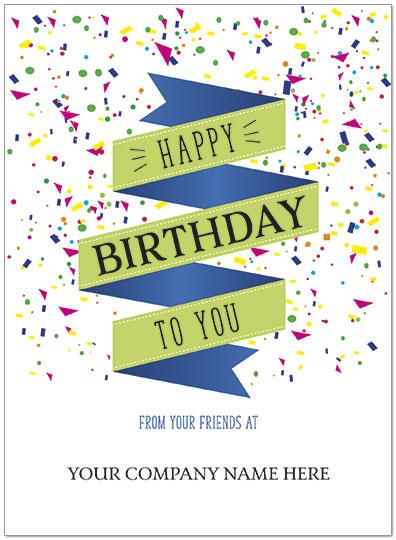 Company Name Birthday Cards