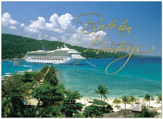 Tropical & Travel Birthday Cards