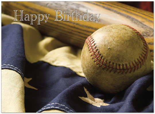 All American Birthday Card Sports Birthday Cards Posty Cards