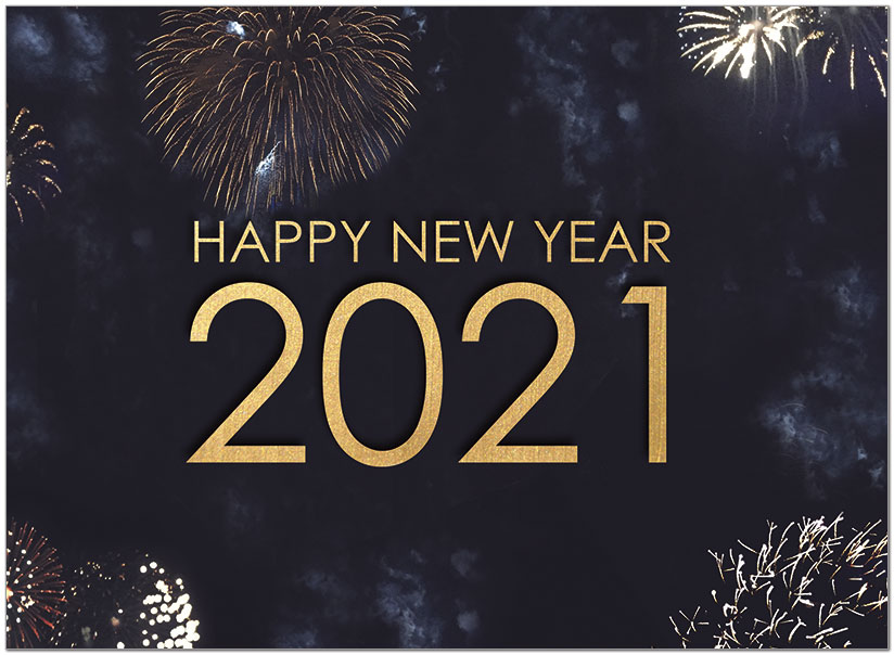 celebrate 2021 new year cards business new year cards posty cards d1544u a celebrate 2021