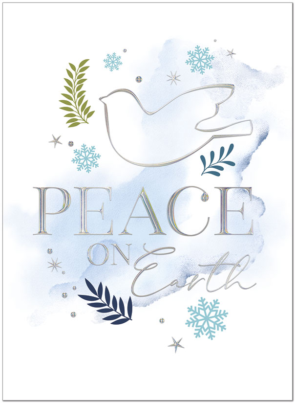Peace Reflections Holiday Card H1533U-AA