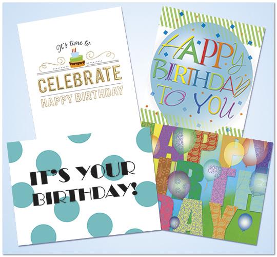 Birthday Card Assortment