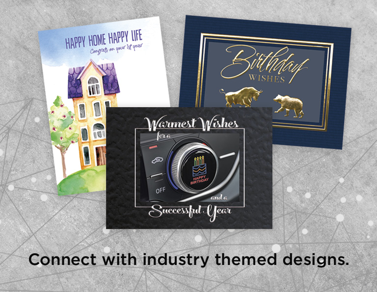 Industry Themed Greeting Cards