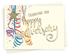 Corporate Anniversary Greeting Cards