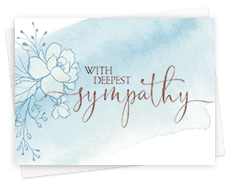 Business Sympathy Greeting Cards
