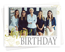 Company Photo Greeting Cards