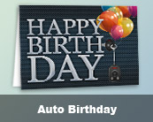 Automotive Birthday Cards