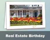 Real Estate Birthday Cards