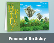Financial Birthday Cards