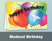 Medical Birthday Cards