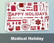 Medical Holiday Cards
