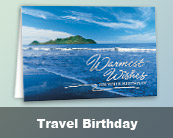 Travel Birthday Cards