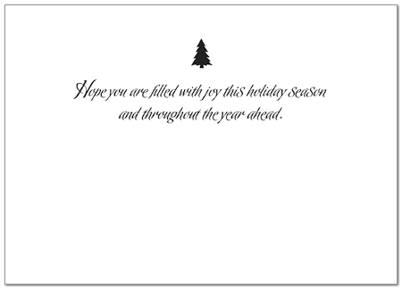 Filled With Joy Holiday Card 8554D-AA