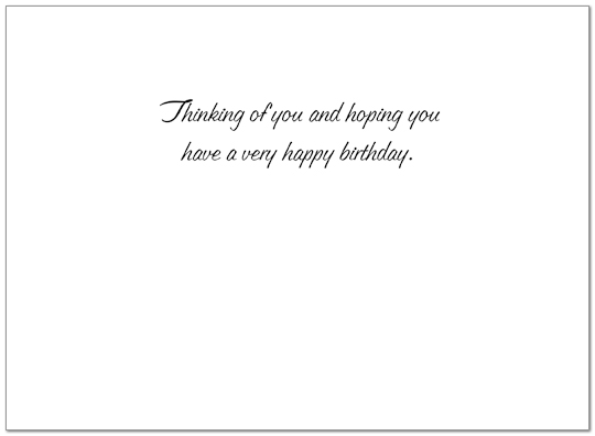 Warmest Wishes Birthday Card X16U-X