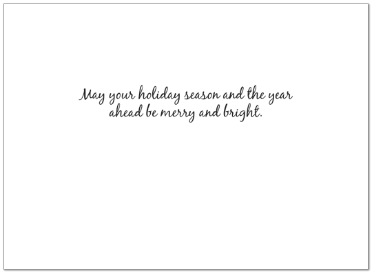 Dashing Through the Snow Holiday Card H2200U-A