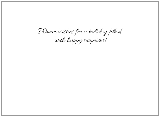 Greetings on the Go Holiday Card H3171U-AA