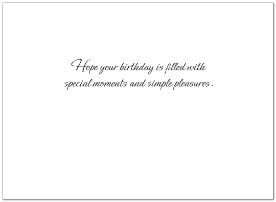 Sunset Sail Birthday Card A4016U-X