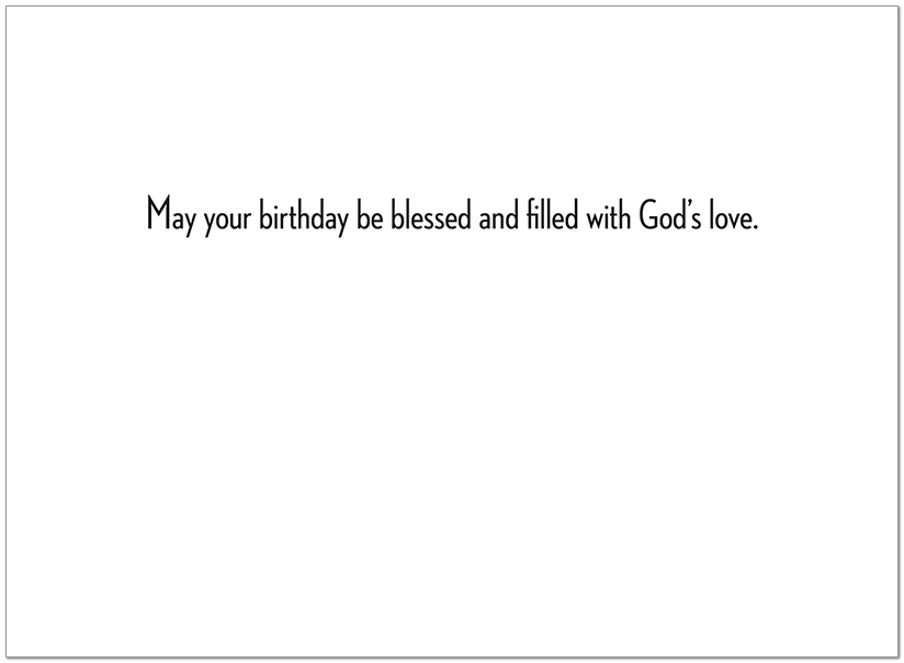 Birthday Path Card A4047U-Y