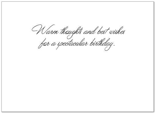 Sunset Waters Birthday Card A7015U-X